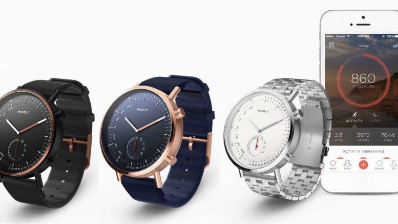 Misfit Command, đồng hồ lai hỗ trợ theo dõi sức khỏe và nhận thông báo từ điện thoại, giá 149 USD