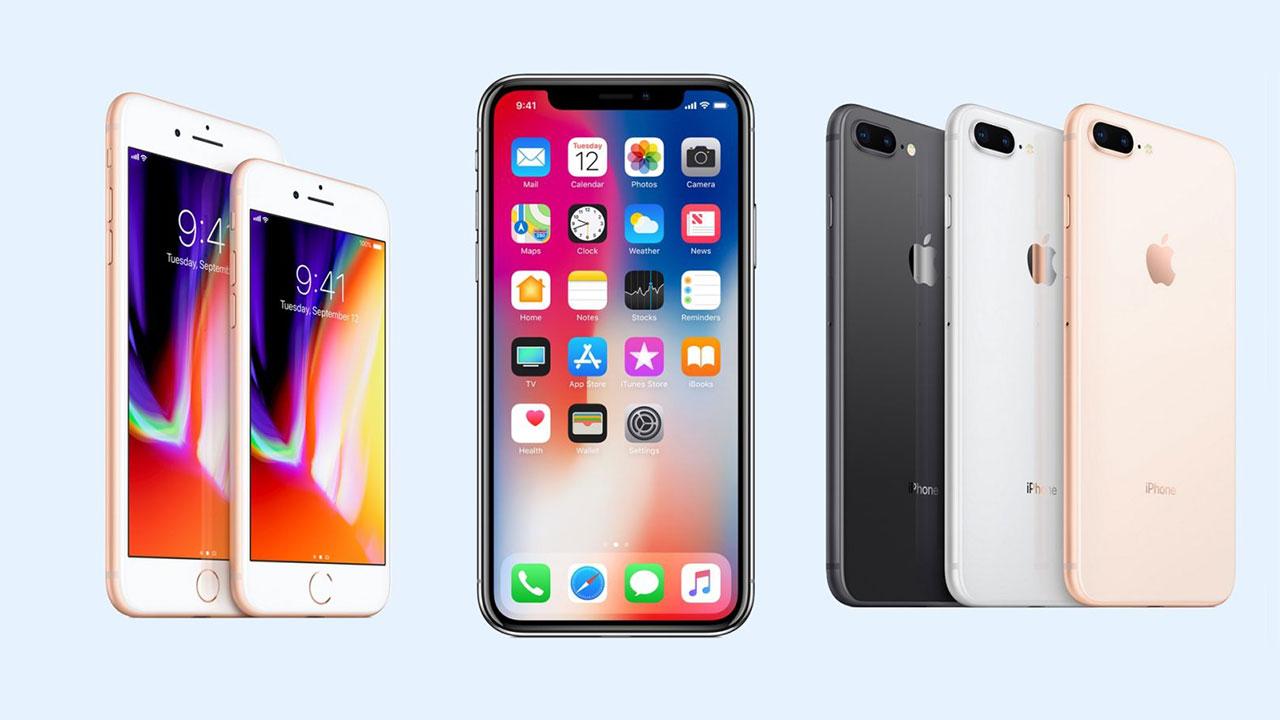 Bộ đôi iPhone 8 và 8 Plus chiếm tới 40% tổng doanh số iPhone, bất chấp sự có mặt của iPhone X