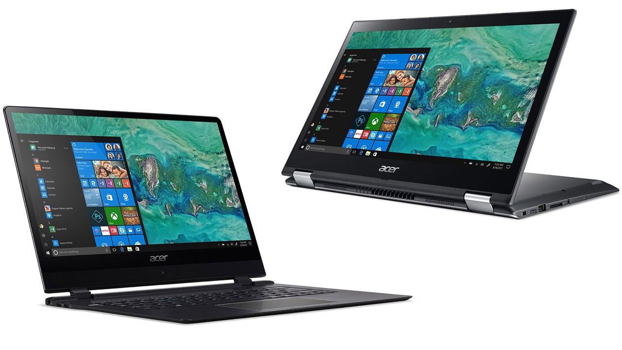 CES 2018: Acer cập nhật loạt máy tính tầm trung, cùng với Acer Swift 7 chiếc laptop mỏng nhất thế giới