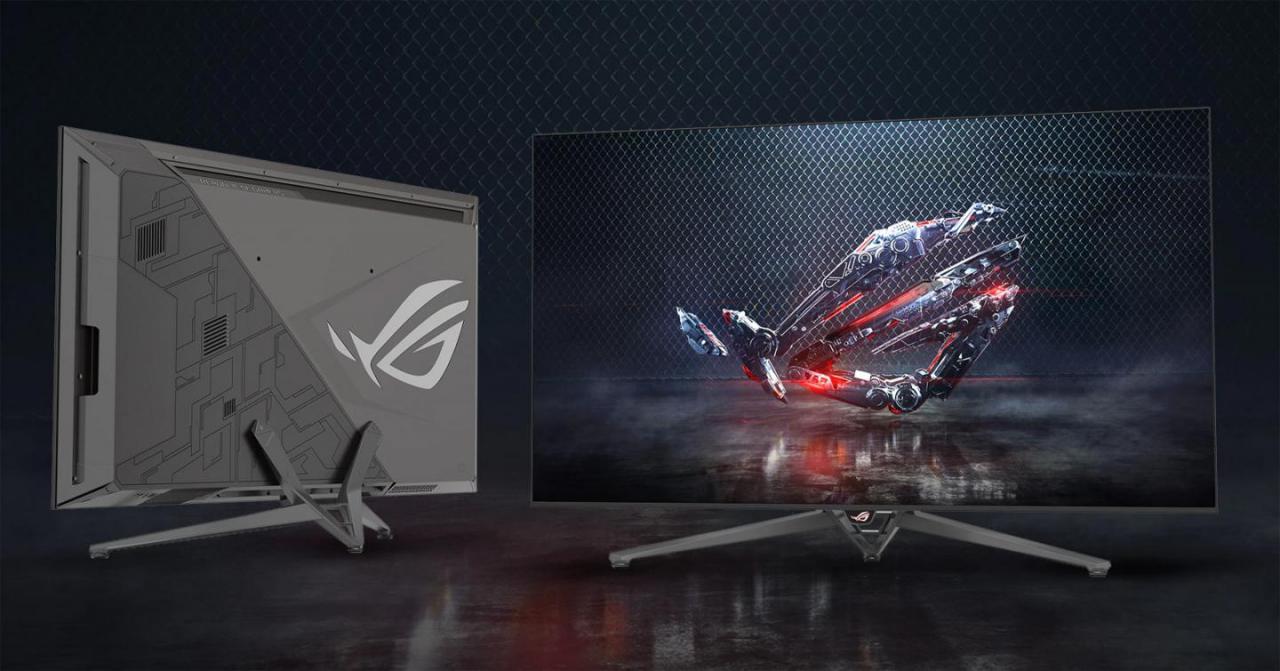 CES 2018: ASUS trình làng màn hình chuyên game ROG Swift PG65 65 inch 4K, tốc độ làm tươi 120 Hz và tích hợp công nghệ NVIDIA G-SYNC