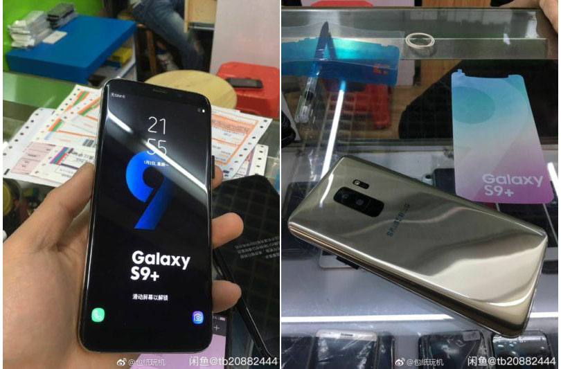 Lộ ảnh thực tế Samsung Galaxy S9 Plus, với camera kép, thiết kế không có nhiều thay đổi