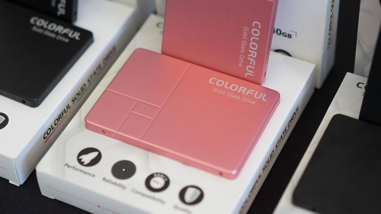 Colorful ra mắt dòng ổ cứng SSD SL300 và SL500 tại thị trường Việt Nam: dung lượng 160-640 GB tốc độ đọc/ghi 500/400 MB/s