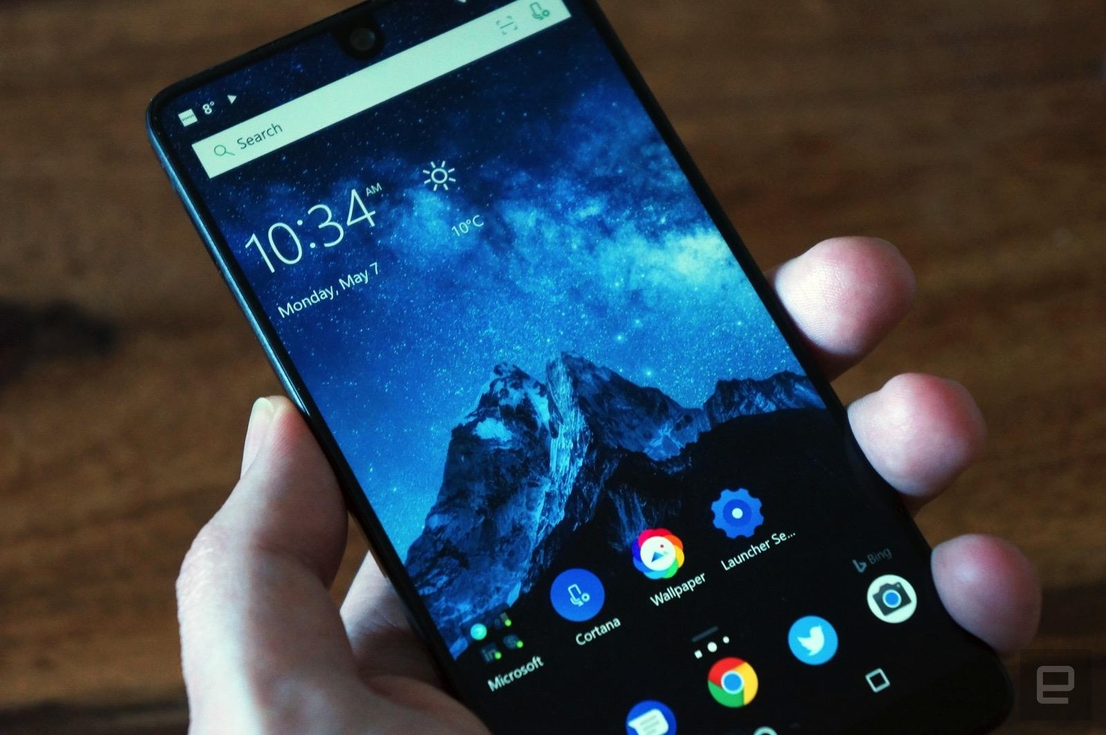 [Microsoft Build 2018] Không có hệ điều hành di động chính chủ, Microsoft tập trung vào Android Launcher và Your Phone