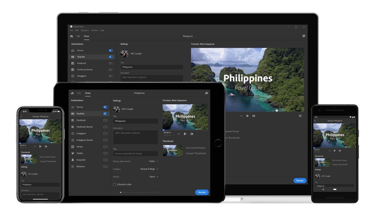 Adobe ra mắt phần mềm chỉnh sửa video mới, kết hợp giữa tính năng của Premiere và After Effects