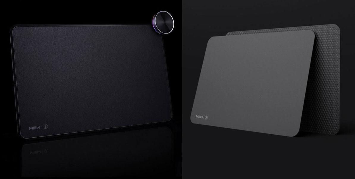 Xiaomi ra mắt Mi Mouse Pad và Mi Smart Mouse Pad, tích hợp sạc không dây và đèn RGB