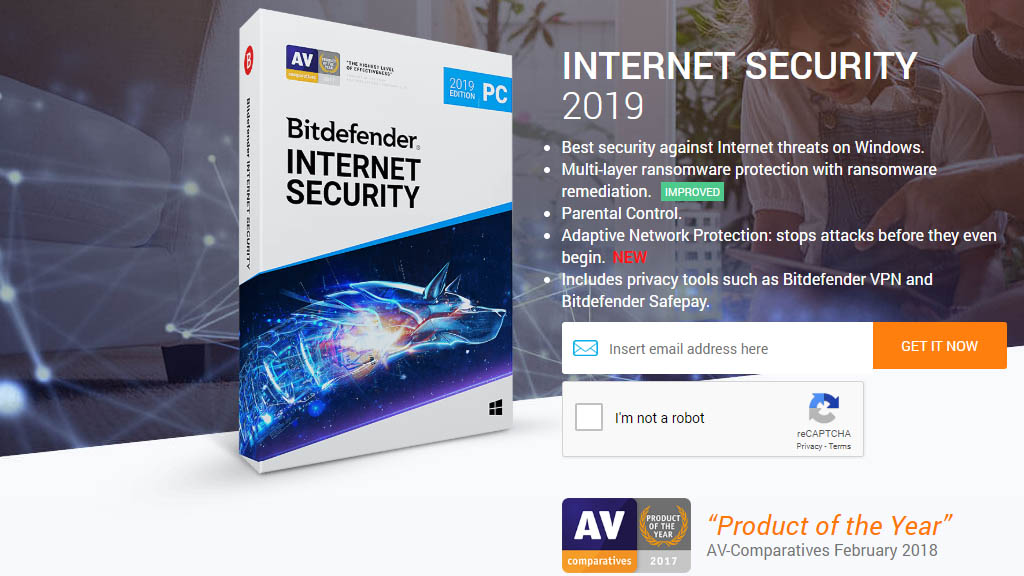 Chia sẻ 6 tháng bản quyền phần mềm Bitdefender Internet Security 2019