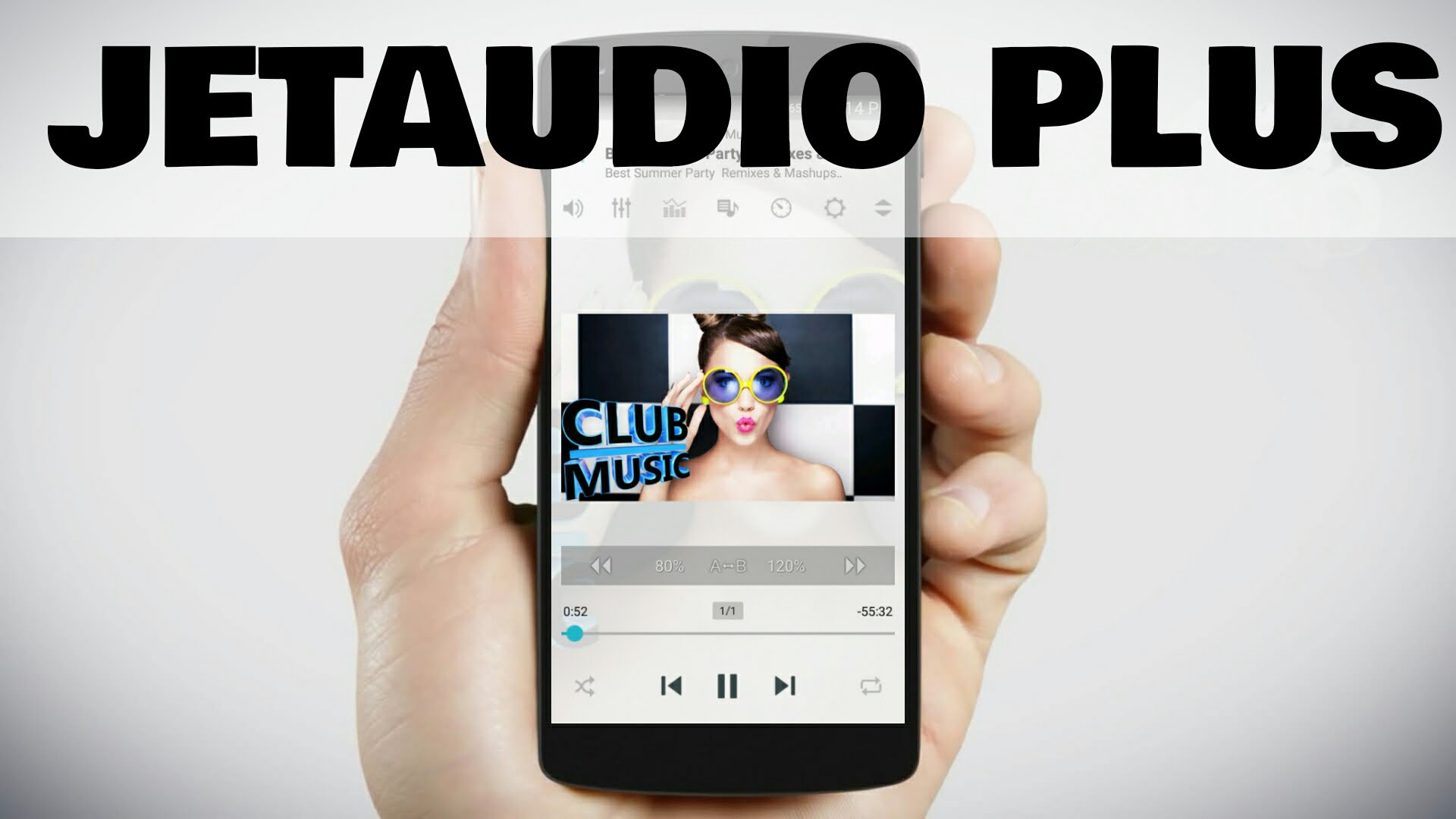 Chia sẻ tập tin APK cài đặt jetAudio HD Music Player Plus v9.4.0 - Phiên bản mới nhất đã được thuốc