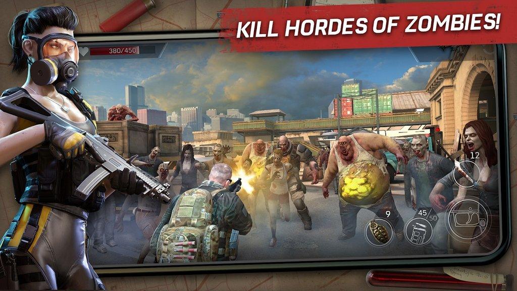 Càn quét zombie với Left to Survive, tựa game mobile có phong cách khá giống L4D2