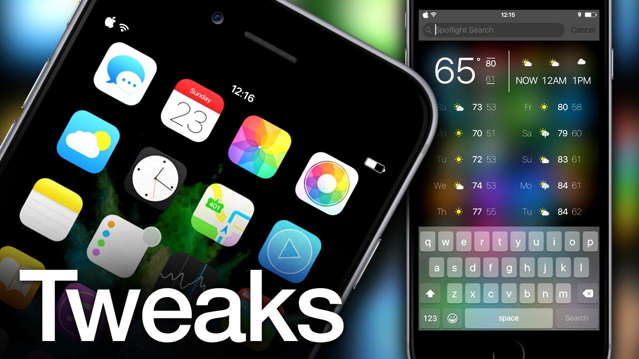 [25/07/2018] Tổng hợp một số tweak mới phát hành dành cho thiết bị iOS đã jailbreak