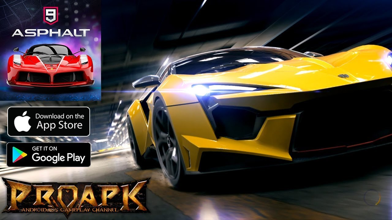 Asphalt 9: Tựa game đua xe bom tấn của Gameloft đã chính thức phát hành trên toàn thế giới, anh em tải về chiến nhé