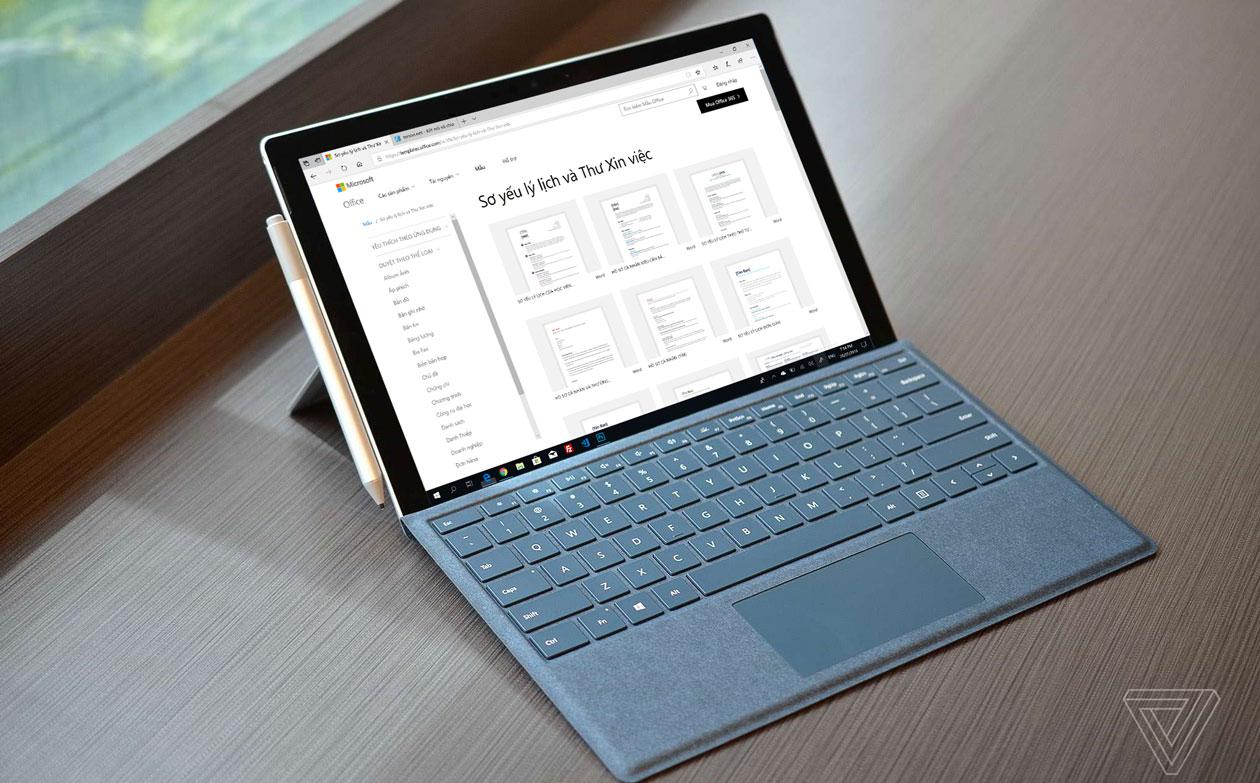 Hướng dẫn tải toàn bộ template sơ yếu lý lịch, đơn xin việc,... chỉnh chủ từ Microsoft