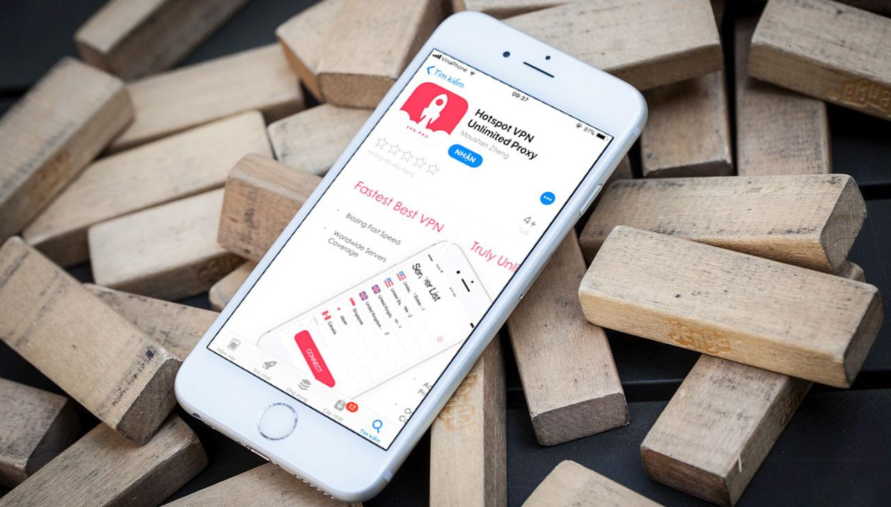Nhanh tay tải về ứng dụng Hotspot VPN Unlimited Proxy trị giá 5,99 USD đang miễn phí trong thời gian ngắn trên App Store