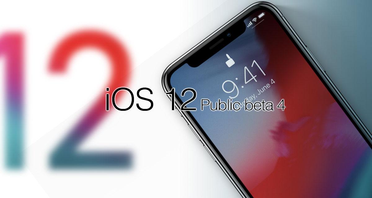 Apple phát hành iOS 12 public beta 4, anh em tải về trải nghiệm nhé