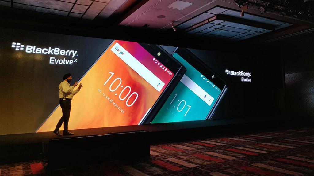 BlackBerry Evolve và Evolve X chính thức ra mắt tại thị trường Ấn độ với màn hình 18:9, camera kép, giá từ 8.4 triệu