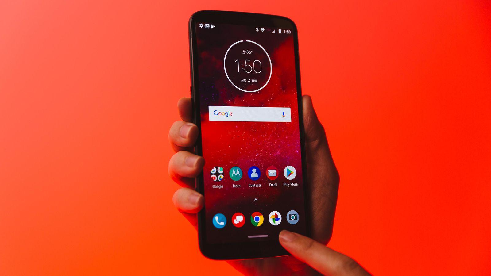 Motorola ra mắt Moto Z3 với Snapdragon 835, RAM 4GB, cảm biến vân tay ở cạnh bên, hỗ trợ 5G, giá 480 USD