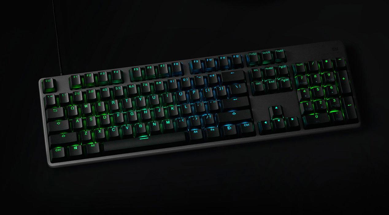 Xiaomi ra mắt bàn phím cơ Mi Gaming Keyboard dành riêng cho game thủ: Có đèn LED RGB, giá chỉ 780.000 đồng