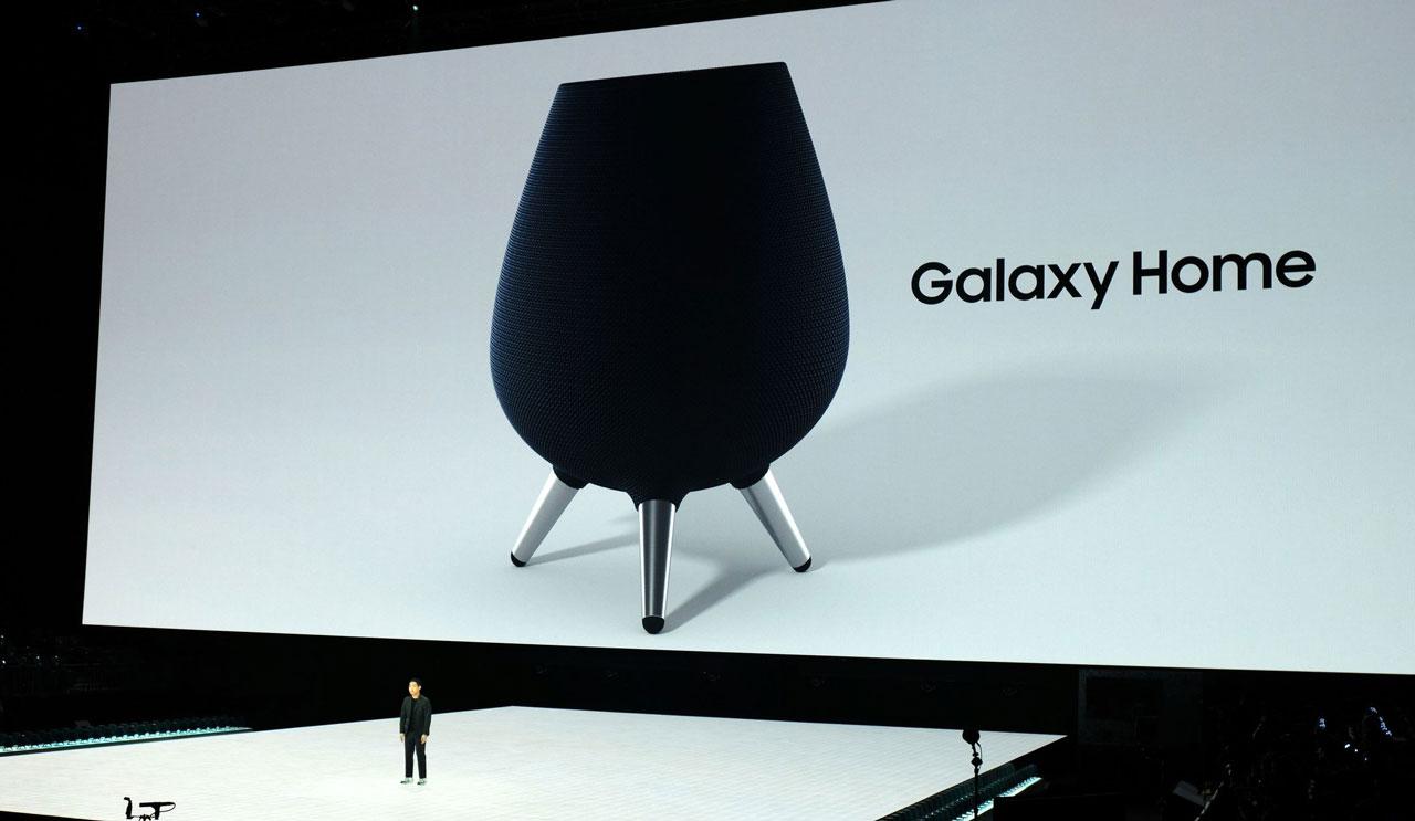 Samsung chính thức ra mắt loa thông minh với Galaxy Home tích hợp trợ lý số Bixby