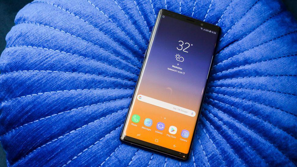 Chia sẻ bộ ảnh nền mặc định của Samsung Galaxy Note 9, mời anh em tải về