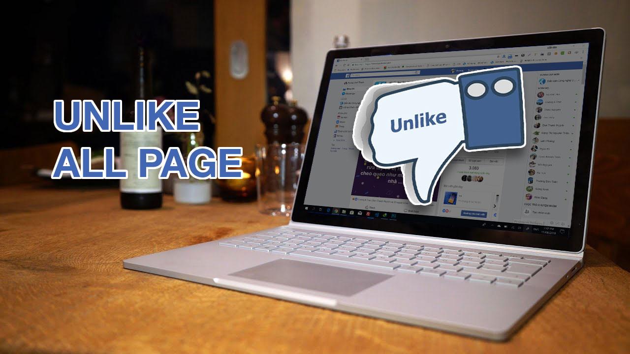 Hướng dẫn Unlike Fanpage Facebook hàng loạt cực nhanh trên với Extension Toolkit For Facebook