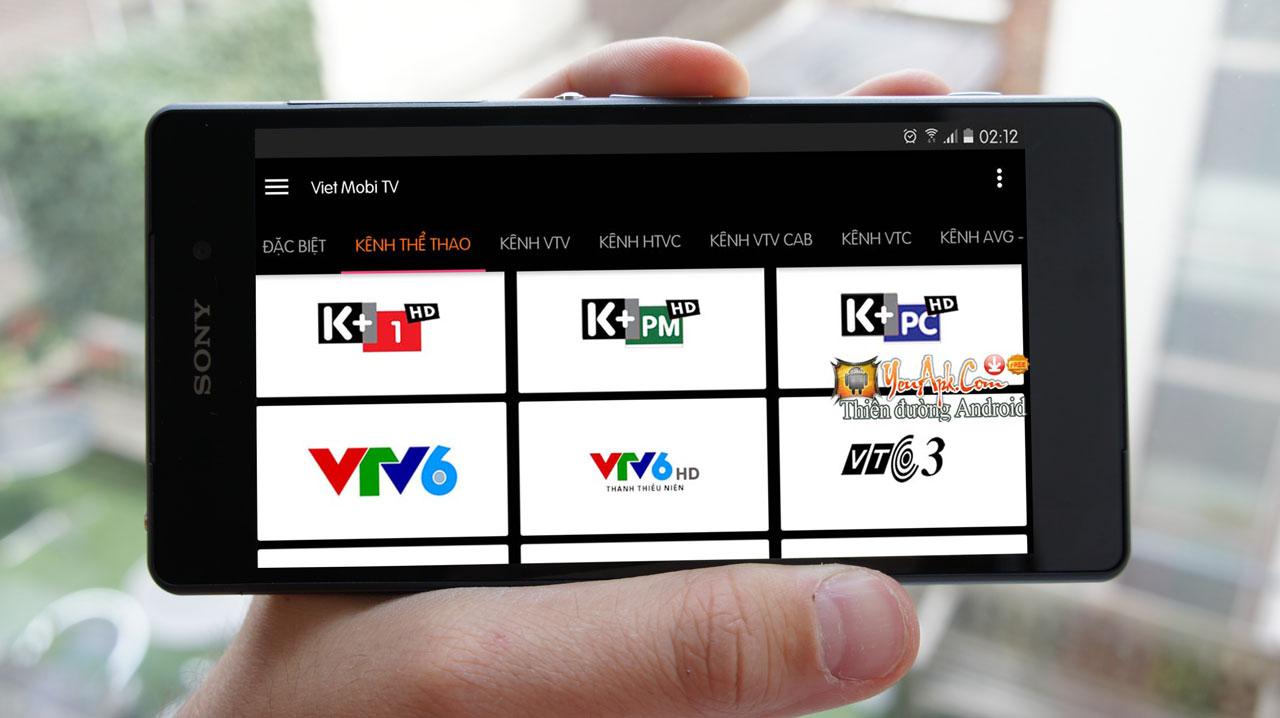 Chia sẻ bản mod Viet Mobi TV không quảng cáo - Ứng dụng xem 160 kênh truyền hình trên Android