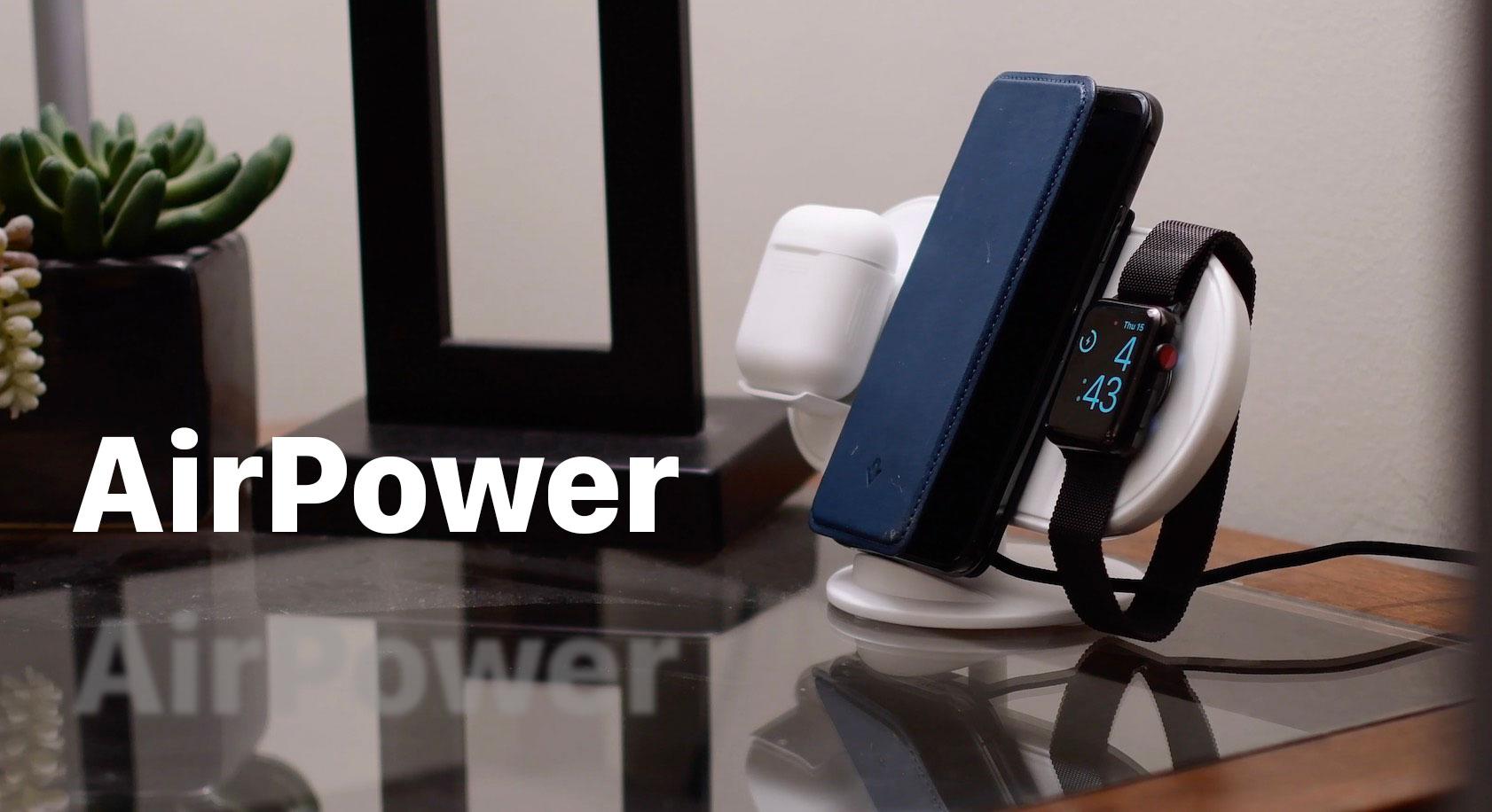 Apple sẽ ra mắt sạc không dây AirPower cùng với iPhone 2018, giá khoảng 3.5 triệu đồng?