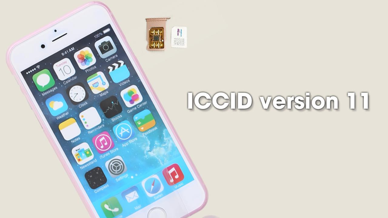 Đã có ICCID version 11, anh em dùng iPhone lock update ngay nhé