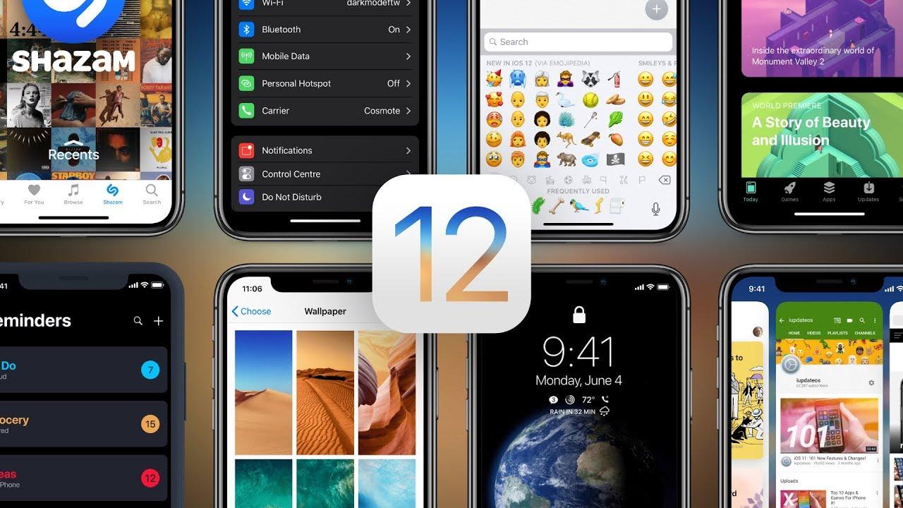 Đã có iOS 12 developer beta 10 và iOS 12 public beta 8, anh em lên ngay nhé
