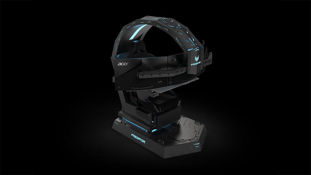 [IFA 2018] Acer ra mắt ghế gaming Predator Thronos với thiết kế cực ngầu, có thể rung xoay, hỗ trợ ba màn hình