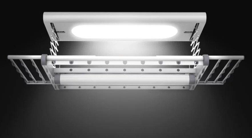 Xiaomi ra mắt máy sấy quần áo thông minh, sử dụng được trong không gian chật hẹp, có cả đèn LED