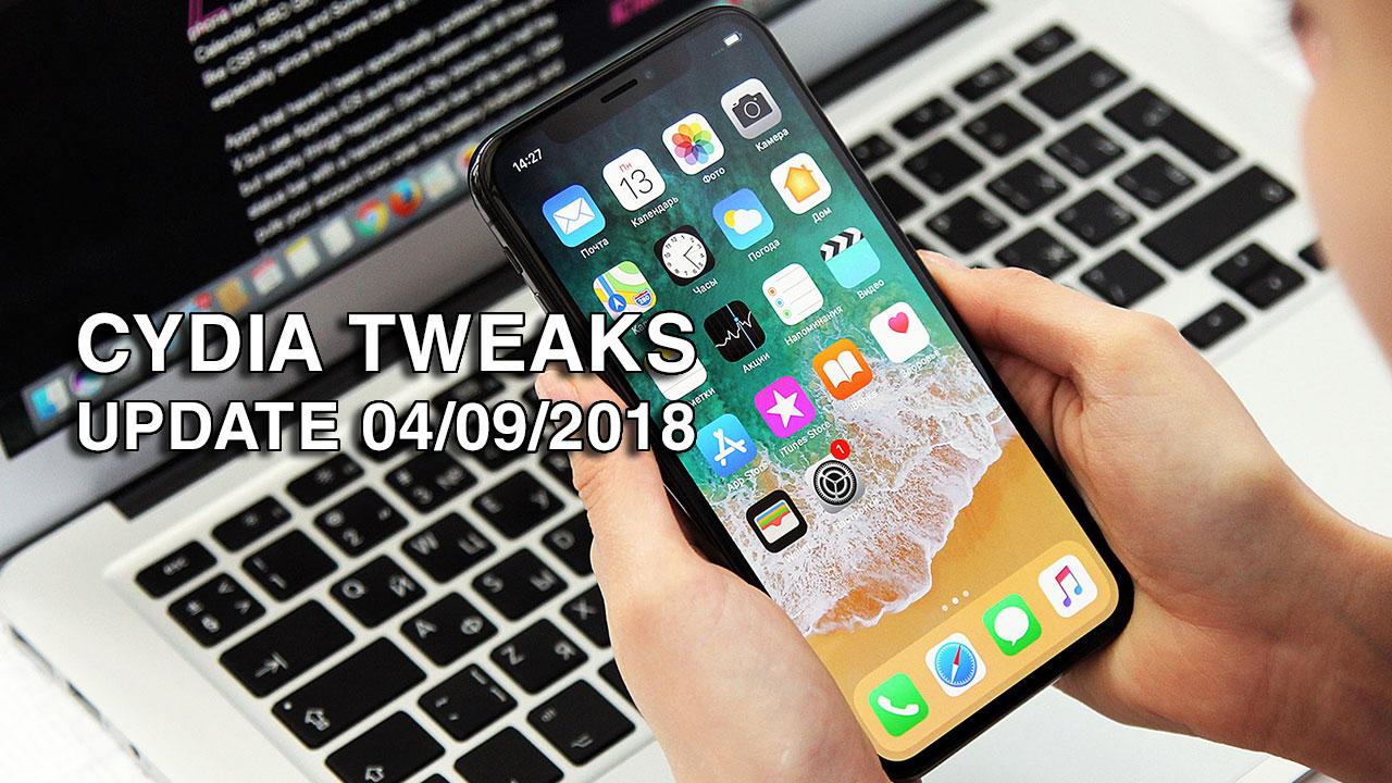 [04/09/2018] Tổng hợp một số Tweak mới phát hành trong thời gian gần đây, dành cho thiết bị iOS đã jailbreak