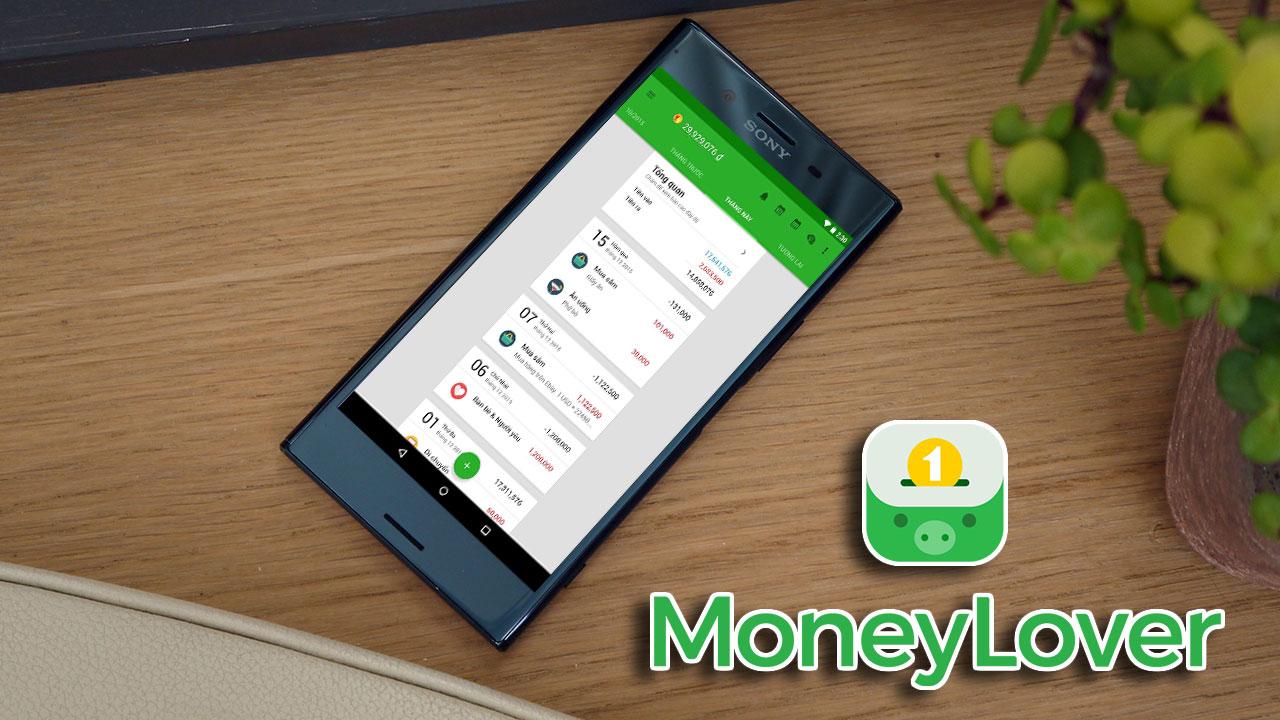 Chia sẻ file APK ứng dụng Money Lover đã mod chức năng premium