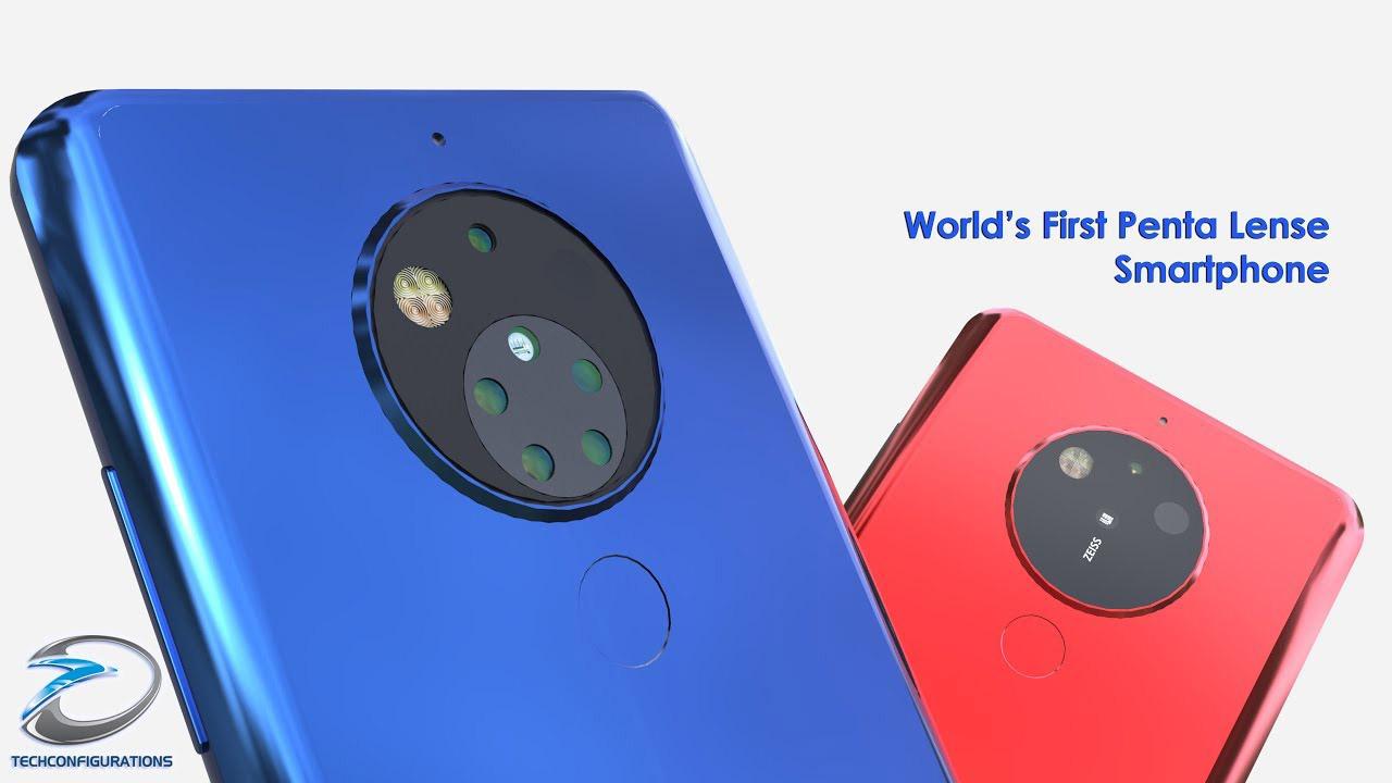 Lộ hình ảnh mặt sau của Nokia 9 với hệ thống 5 camera siêu khủng