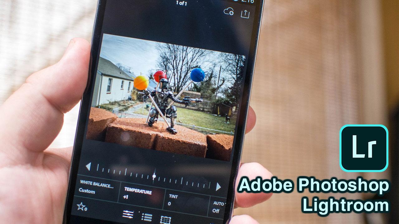 Chia sẻ bản mod ứng dụng chỉnh sửa ảnh Adobe Photoshop Lightroom Premium trên Android