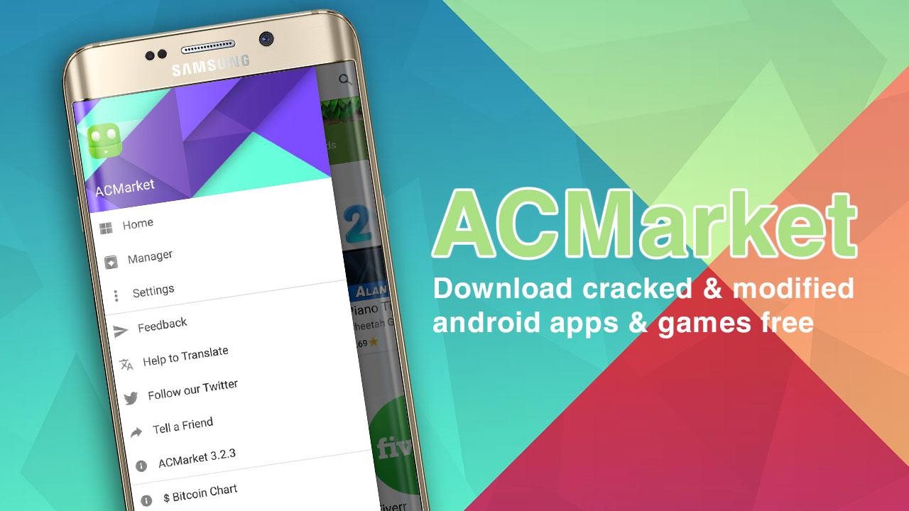 ACMarket: Nơi tải miễn phí ứng dụng và game Android bản quyền đã được patch hoặc mod