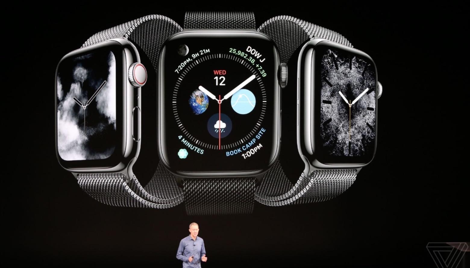 Apple Watch series 4 ra mắt với màn hình lớn, viền mỏng, nhiều tính năng ấn tượng, giá từ 399 USD