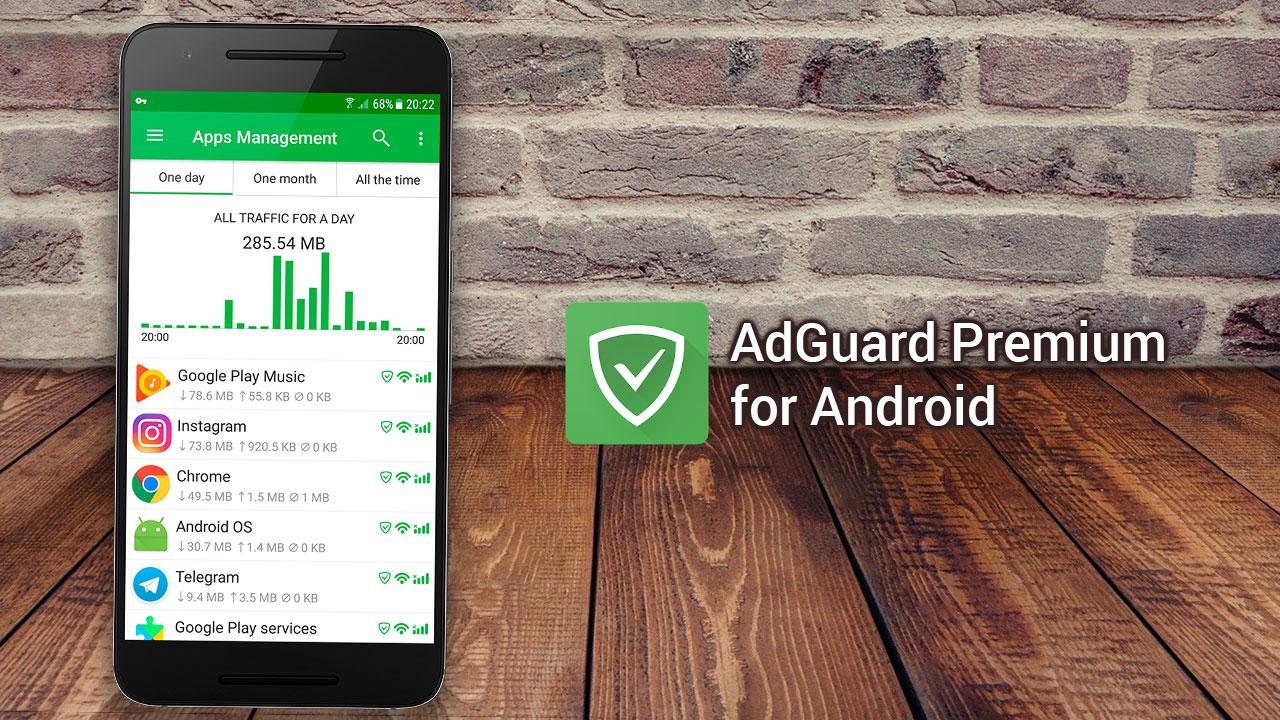 Chia sẻ bản mod Adguard Premium: Ứng chặn quảng cáo khi xem phim, lướt web trên Android