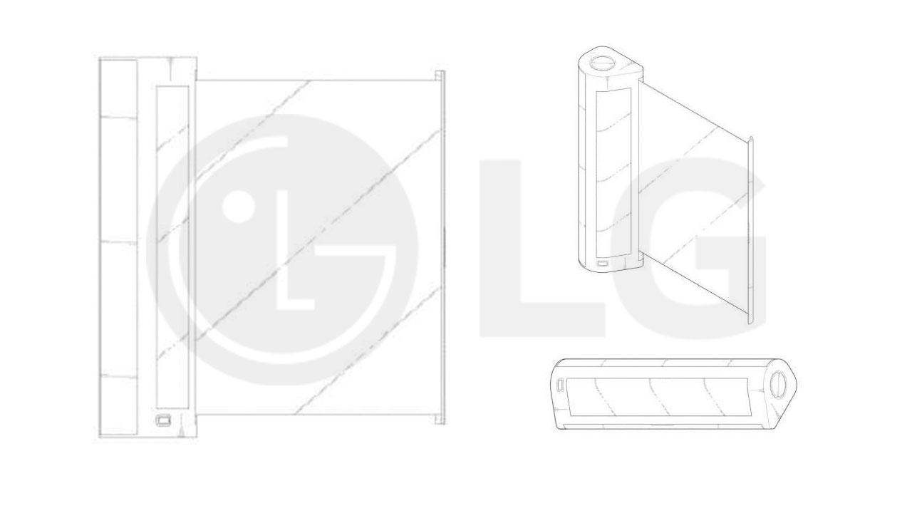 Lộ diện bằng sáng chế mới của LG với thiết kế smartphone như cuộn giấy cổ