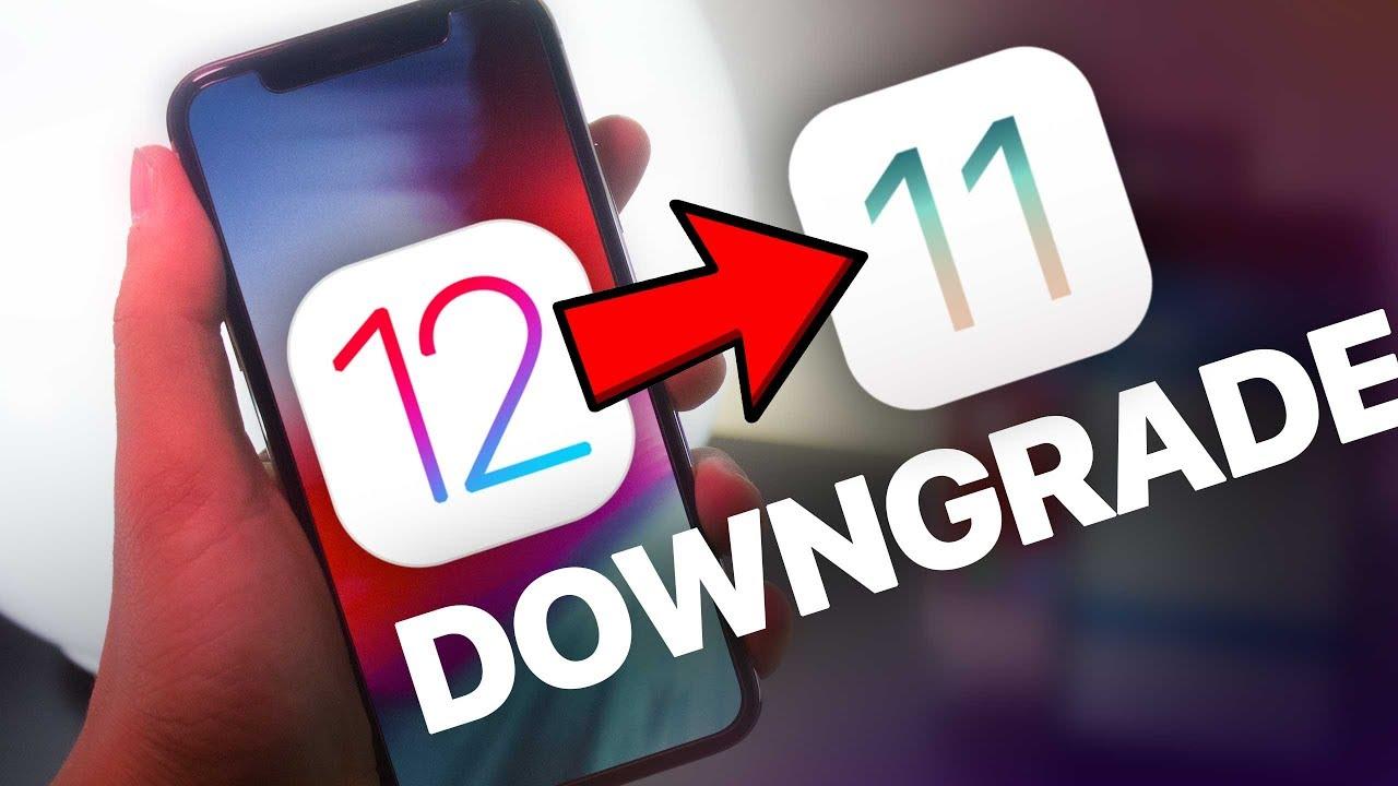 Hướng dẫn hạ cấp từ iOS 12 xuống iOS 11.4.1