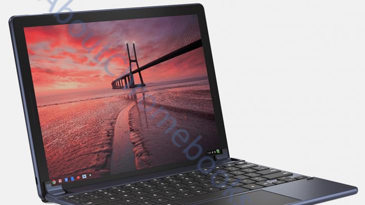 Nocturne: Chiếc tablet Chromebook đầu tiên của Google lộ hình ảnh thiết kế