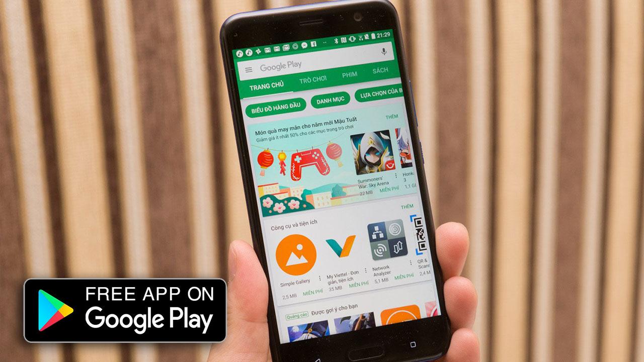 [28/09/2018] Nhanh tay tải về 9 ứng dụng và trò chơi trên Android đang miễn phí, giảm giá trong thời gian ngắn