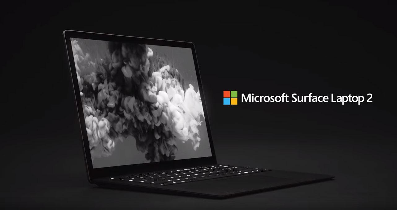 Microsoft ra mắt Surface Laptop 2: Hiệu năng cao gấp đôi, thiết kế không đổi, thêm màu matte black, giá chỉ từ 999 USD