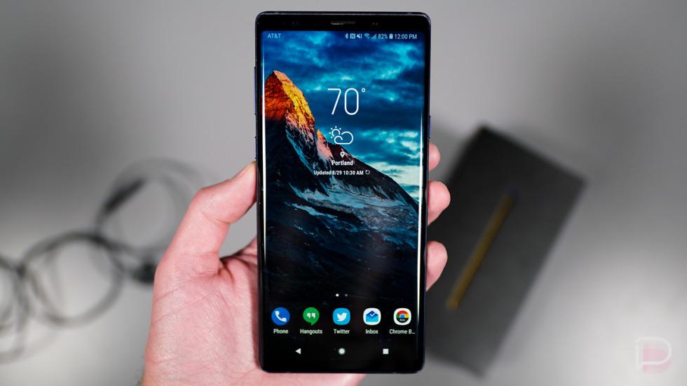 Rò rỉ bản firmware Android Pie cho Galaxy Note 9, tiết lộ giao diện người dùng hoàn toàn mới