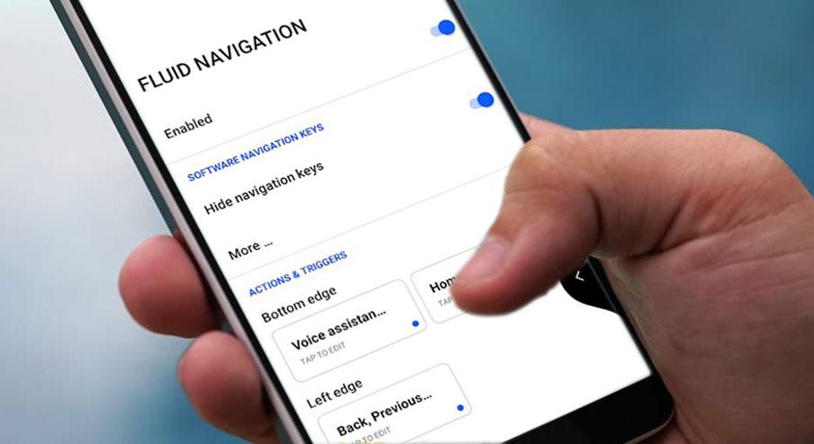 Hướng dẫn cài Fluid Navigation Gestures: Điều hướng cử chỉ vuốt cạnh viền và đáy mượt mà trên Android