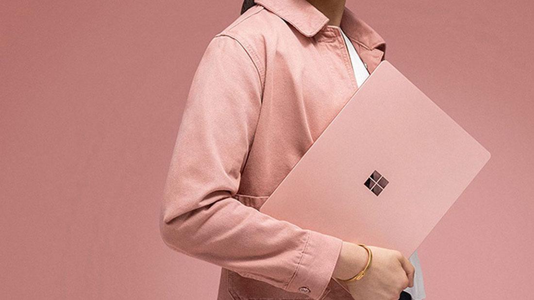 Microsoft ra mắt Surface Laptop 2 màu hồng, dành riêng cho thị trường Trung Quốc
