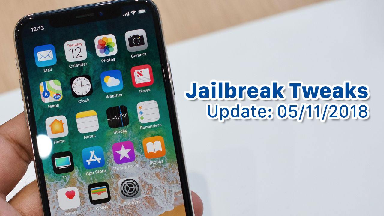 [05/11/2018] Tổng hợp một số tweak mới phát hành trong thời gian gần đây, dành cho thiết bị iOS đã jailbreak