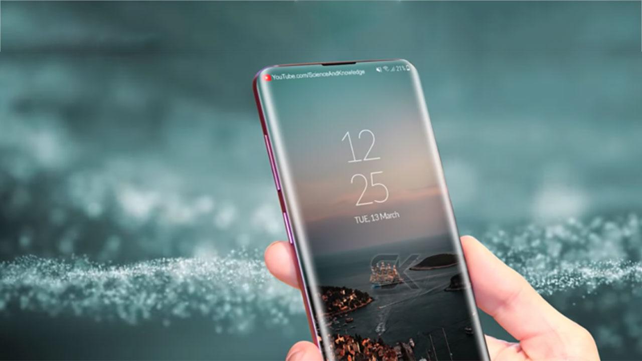 Bằng sáng chế mới của Samsung hé lộ một chiếc smartphone với màn hình chiếm trọn mặt trước