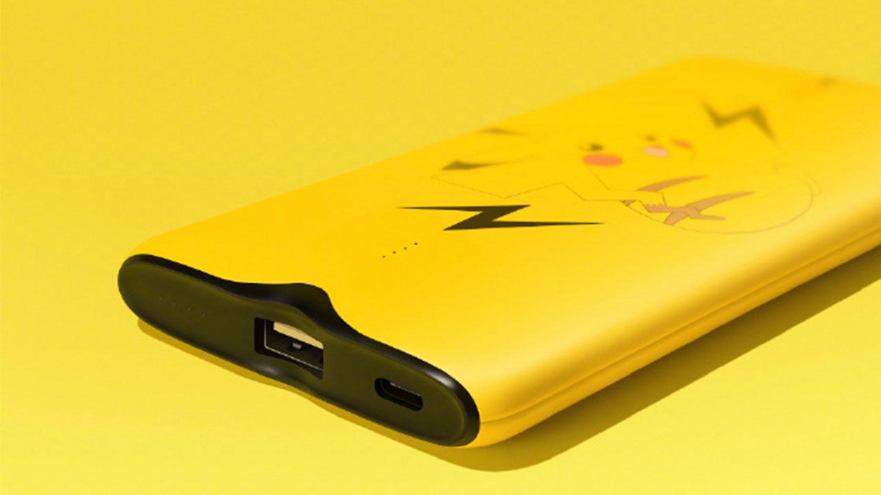 Oppo ra mắt pin dự phòng SuperVOOC sạc cực nhanh với công suất 50W, thiết kế hình pikachu rất bắt mắt