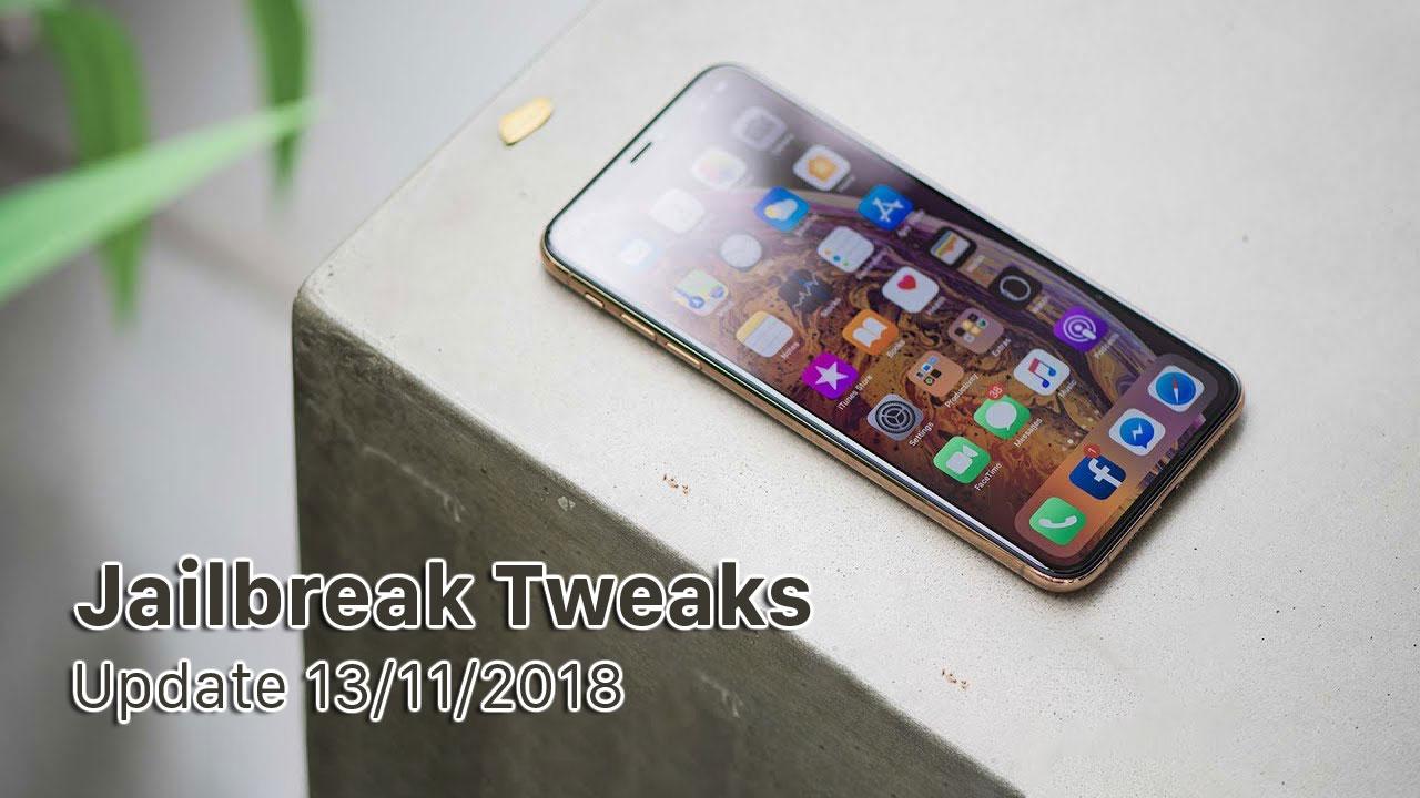 [13/11/2018] Tổng hợp một số tweak mới phát hành trong thời gian gần đây, dành cho thiết bị iOS đã jailbreak