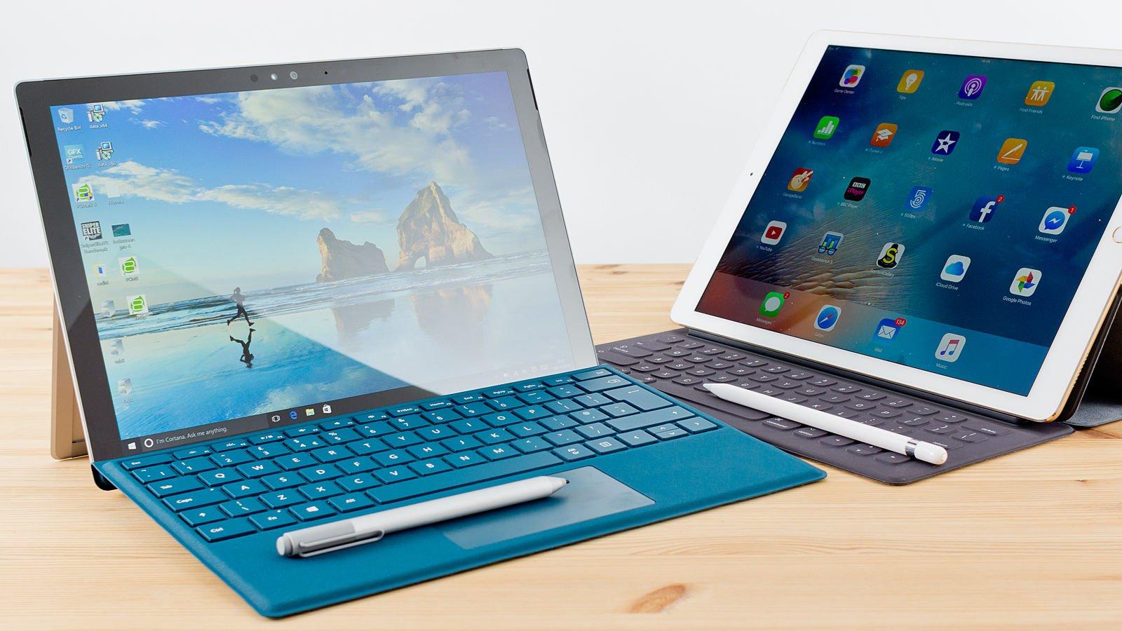 Doanh số dòng sản phẩm Surface của Microsoft vượt trội so với iPad Pro tại Tây Âu trong Quý 3/2018