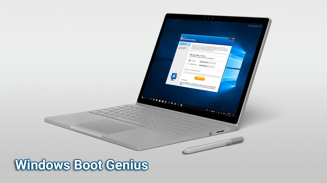 Nhanh tay nhận bản quyền miễn phí phầm mềm Windows Boot Genius trị giá 64.95 USD